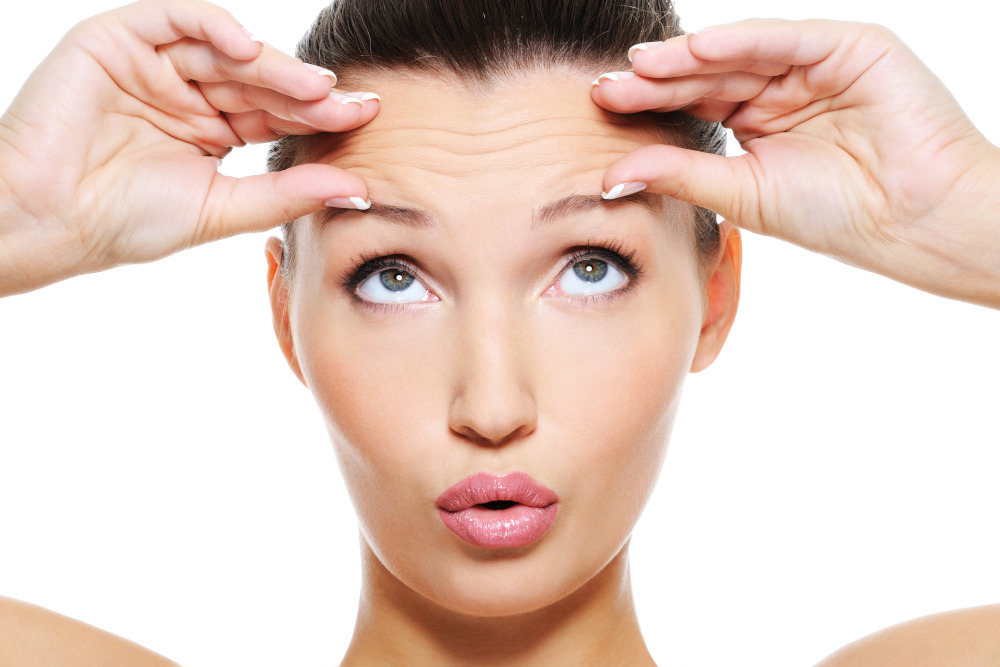 injectables forehead lines image